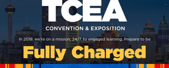 TCEA Convention banner ad
