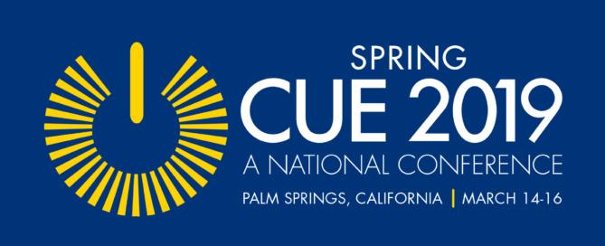 Cue 2019 conference logo