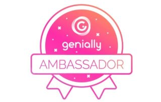 Genially Ambassador badge