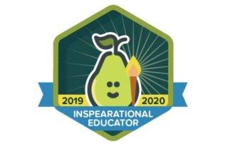 Inspearational Educator badge