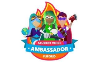 FlipGrid student voice ambassador logo