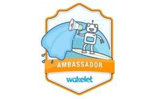 Wakelet Ambassador badge