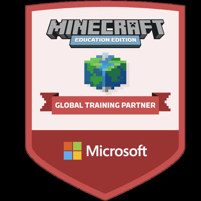 Minecraft Global Training Partner Badge