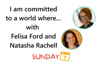 Sunday 7 title Felisa Ford and Dr. Natasha Rachell